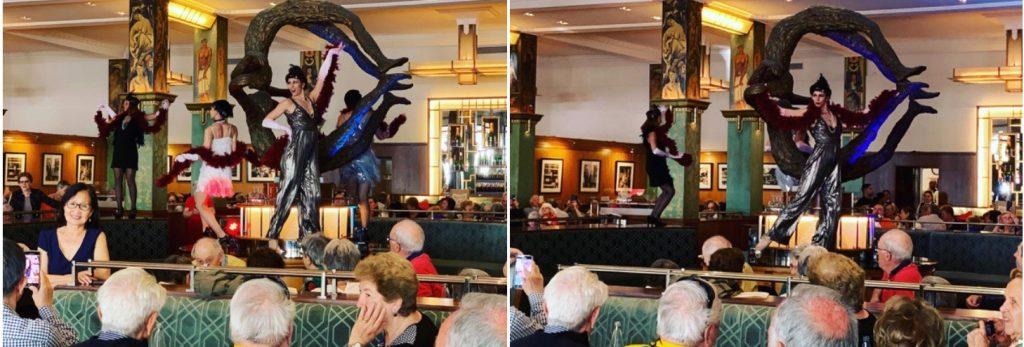 spectacle danse coupole dance 1024x347 - Spectacle de danse pour Entreprise